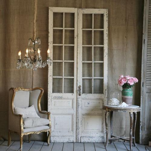 Antique French Doors - Antique French Doors COASTAL FOG